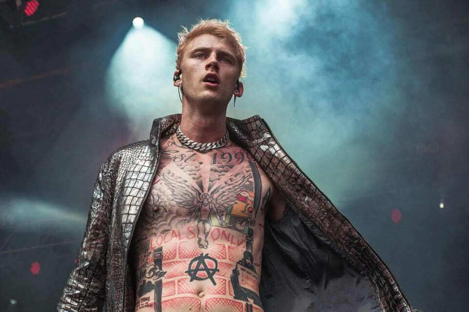 Machine Gun Kelly UFOs