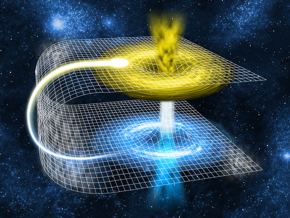 Are Worm Holes Connected to Gravity