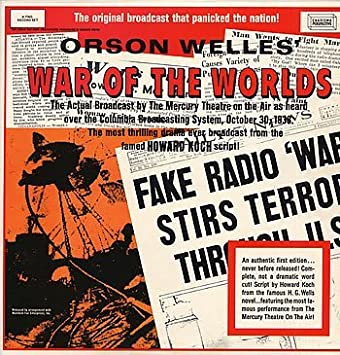 War of the Worlds Radio Recording