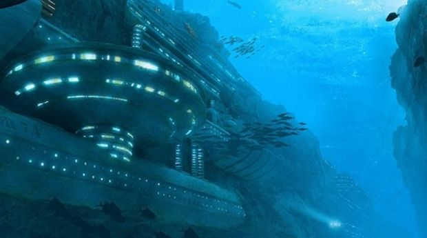 US Navy and UFOs Underwater Base