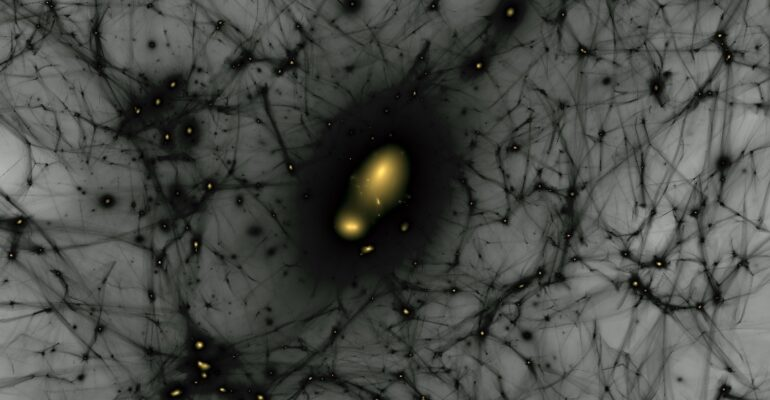 Space Time and Dark Matter