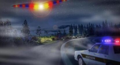 Rare Police Officer UFO Abduction