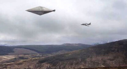 French UFO Dogfights